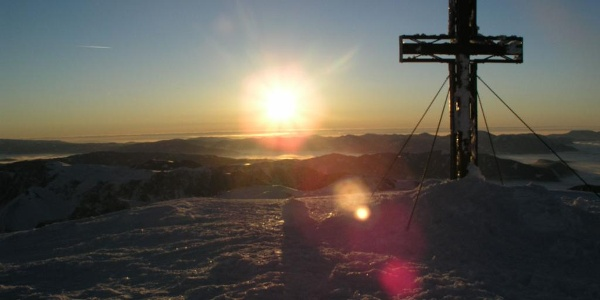 Gipfel des Hochschwab auf 2277 müA