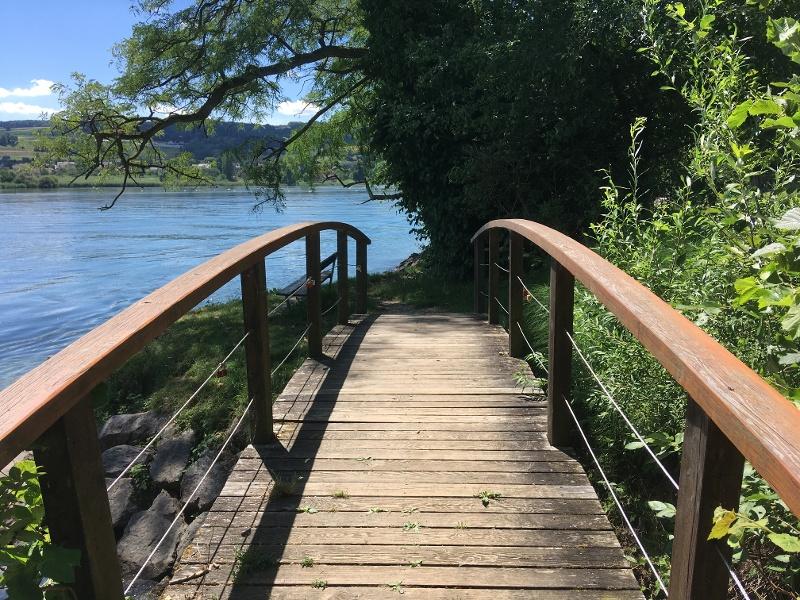 Grenzüberschreitender Erlebnispfad  Öhningen - Stein am Rhein