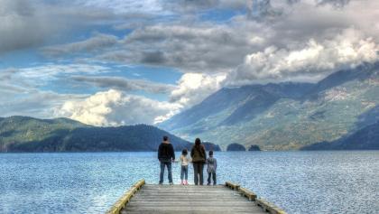 Escursione con la famiglia