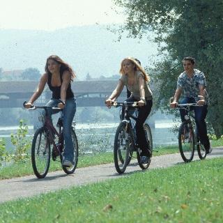 Bad Säckingen Radfahrer