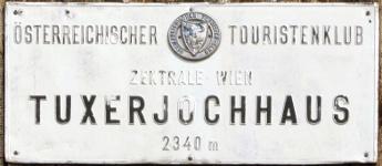 Tuxerjochhaus Logo
