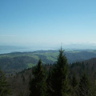 Blick vom Albishorn Richtung Glarnerland,Toggenburg
