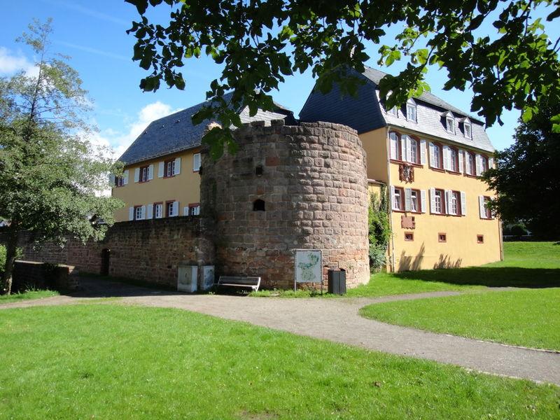 Gustavsburg am Schlossweiher in Homburg-Jägersburg