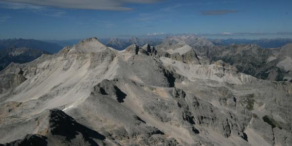 Blick von der Westlichen Ödkarspitze zur Seekarspitze