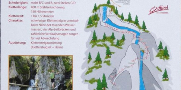 """NEU: Zustieg zur Schutzhütte auf der Kerschbaumer Alm über Klettersteig """"Verborgene Welt"""""""