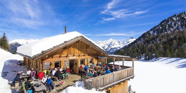 Trejer Alm   Skitouren am Speikboden