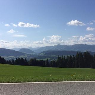 Grandioser Blick in den Bregenzer wald