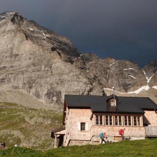 Fußstein von der Geraer Hütte