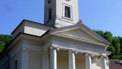 Evangelische Kirche in Rinnthal, bekannteste und bedeutsamste klassizistische Kirchenbau in der Pfalz