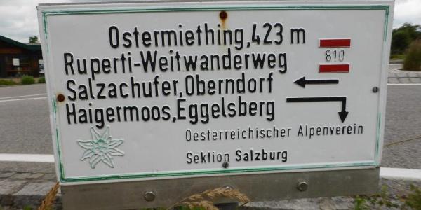 Die ÖAV Sektion Salzburg übernimmt in Ostermiething