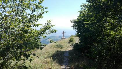 Weg zum Gipfelkreuz