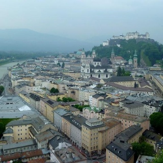 Blick über die Salzburger Altstadt