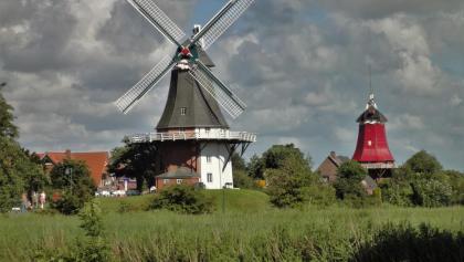 Windmühlen von Greetsiel