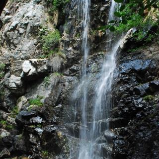 Bei den Kaledonischen Wasserfällen