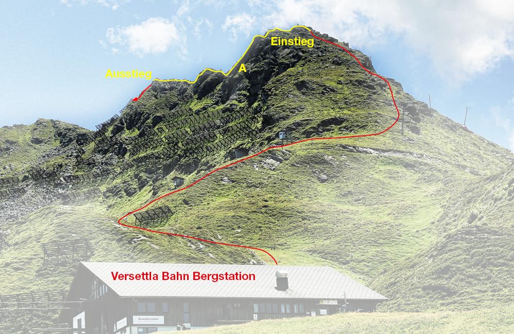 Klettersteig Burg : Klettersteig burg urlaub in vorarlberg