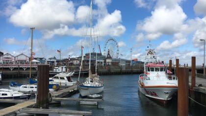 Etappenziel: der Lister Hafen