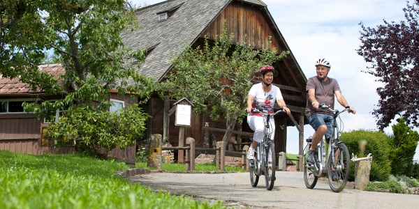 Radeln auf dem Höfe- und Mühlenweg Königsfeld