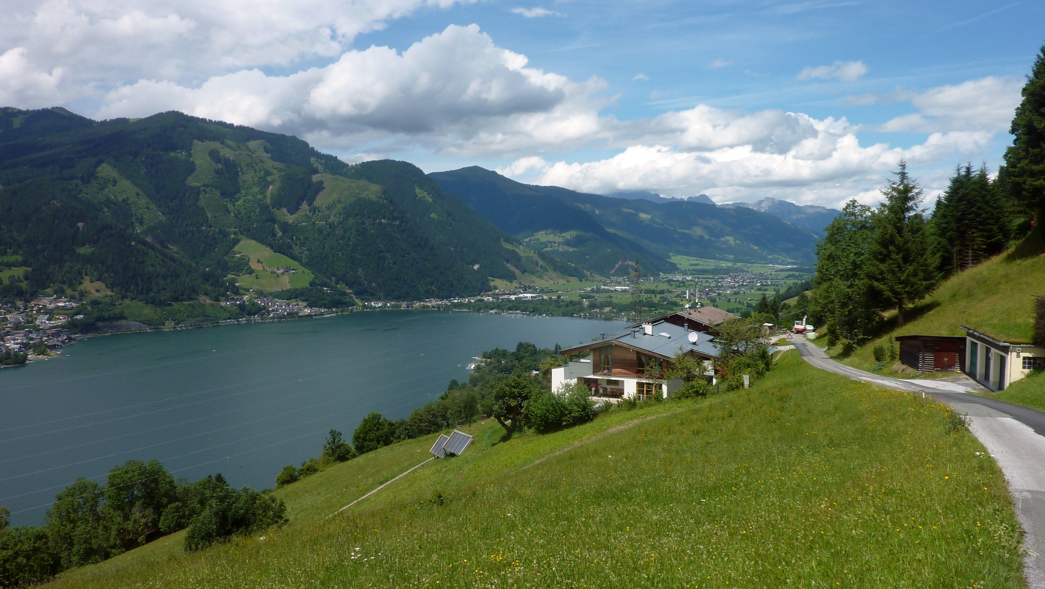 single trails zell am see