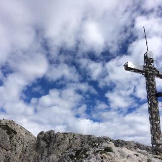 La croce di cima del Pizzocco