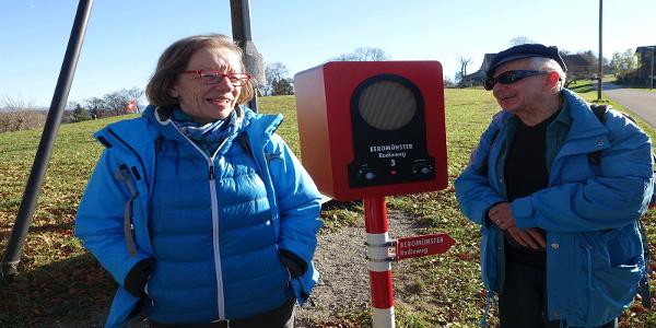 Eine von 7 Stationen auf dem «Radioweg Beromünster».