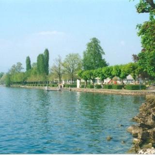 Seepromenade von Lachen