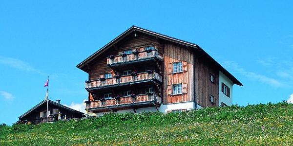 Berggasthaus Post in Obermutten