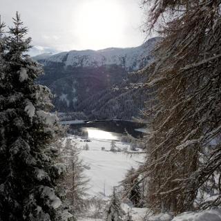 Winterwanderweg zum Aussichtspunkt