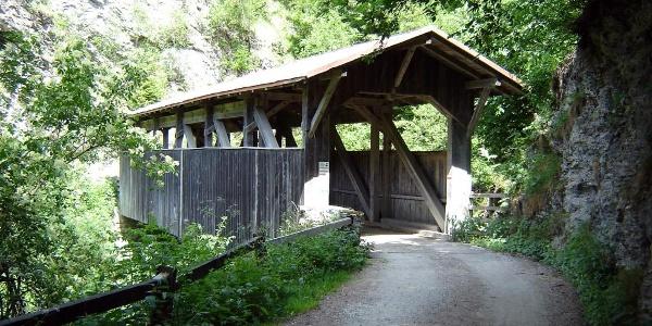 Holzbrücke Reischen