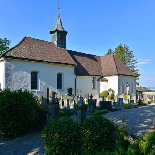 The church of Bernrain, a highly popular place of
