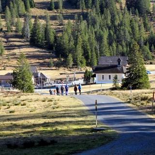 Weg zum Restaurant Schwendi-Kaltbad