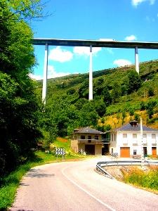 Autobahnbrücke bei San Julián