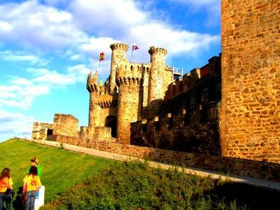 Ponferrada - durch Templerritter befestigte Stadt