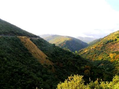 Aufstieg in die kantabrischen Berge