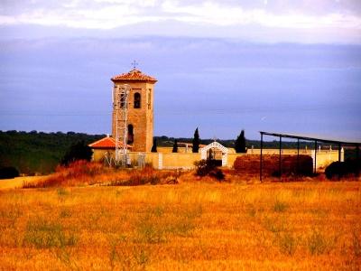 Kirche bei Calzadilla de la Cueza