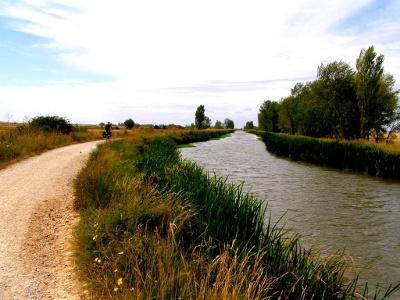 entlang dem Canal de Castilla nach Boadilla