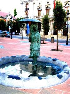 noch eine  Skulptur in Burgos