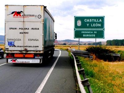 vor Grañon: «Castilla y Léon» verlassen