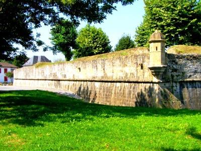 Befestigung von 1540 rund um Navarrenx