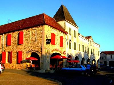Abendstimmung in Arzacq-Arraziguet