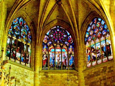 Abschied von Kathedrale Saint Pierre in Condom