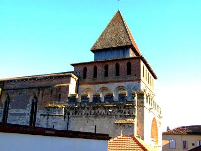 Moissac: Benediktinerabtei oder Festung?