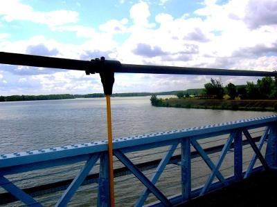Zusammenfluss Tarn und Garonne
