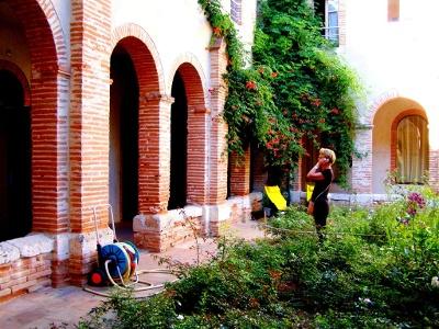 Absschied vom Karmeliterinnen-Kloster Moissac