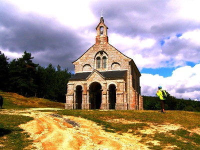 St Roch: Kapelle auf Monts de la Margeride