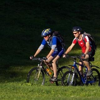 Schon die letzte Etappe der Heidiland Bike Tour