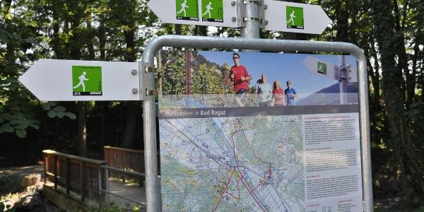 Infopoint beim Freibad Giessenpark