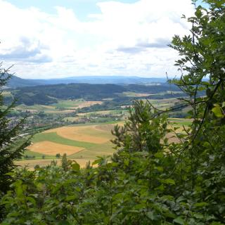 Aussicht von St. Ottilien ins Wutachtal