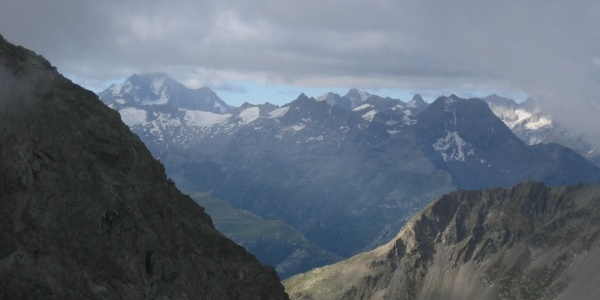 ascent to Piz Julier