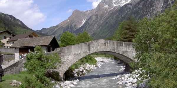 Brücke bei Vicosoprano