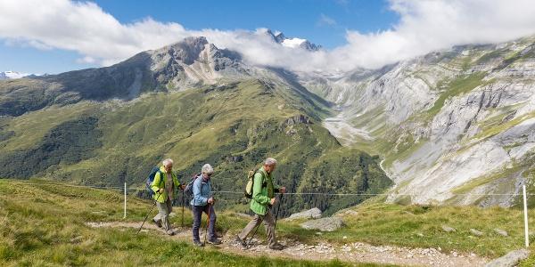 Alp Quader Richtung Bifertenhütte